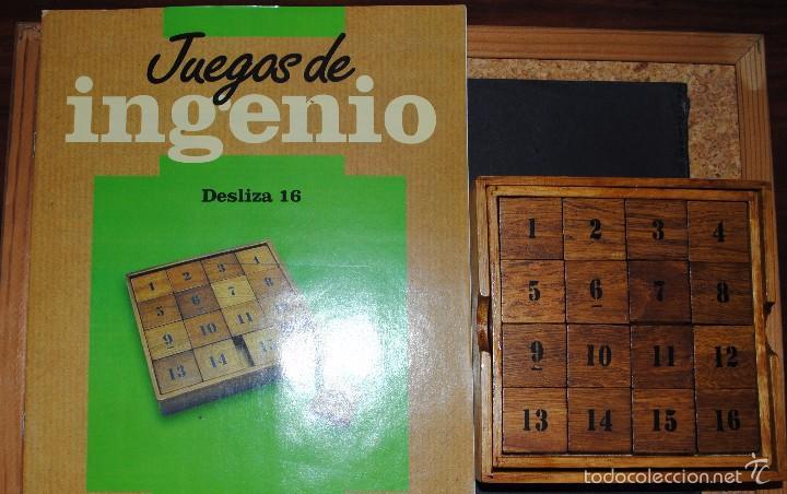 Juegos antiguos: Juego de Inteligencia ( DESLIZA ). - Foto 4 - 132523818