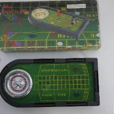 Juegos antiguos: MINI RULETA TOINSA (MINI-ROULETTE SET). Lote 56373912