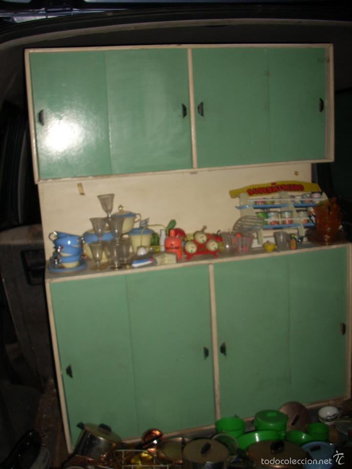 gran cocina antigua de juguete - Comprar Juegos antiguos variados en ...
