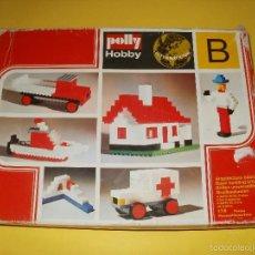 Juegos antiguos: ANTIGUO JUEGO DE CONSTRUCCION POLLY HOBBY. Lote 56699354
