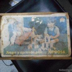 Juegos antiguos: CAJA JUGUETE JUPDOSA. Lote 56922274
