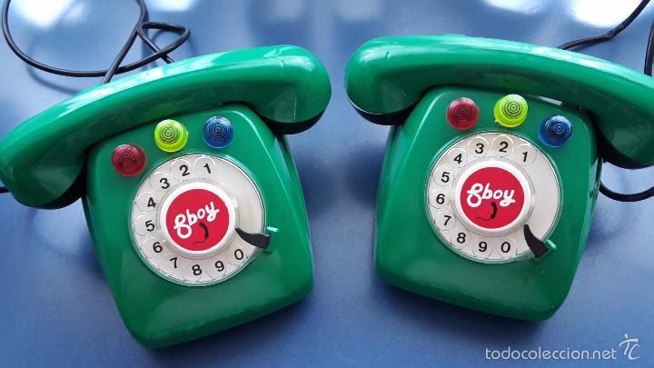 JUEGO DE TELÉFONOS POR CABLE. (Juguetes - Juegos - Otros)
