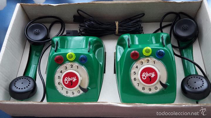Juegos antiguos: Juego de teléfonos por cable. - Foto 3 - 57668477