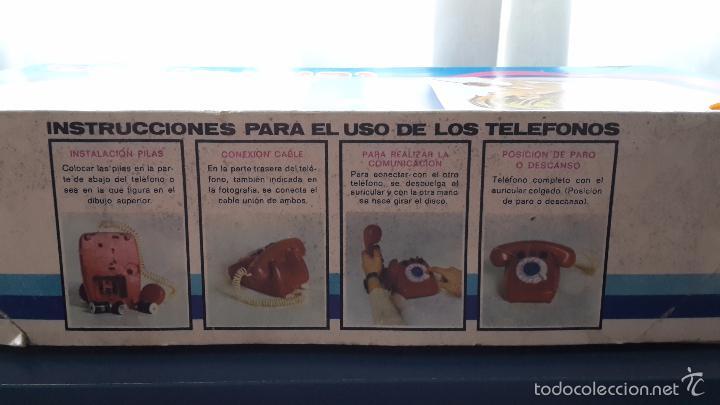 Juegos antiguos: Juego de teléfonos por cable. - Foto 6 - 57668477