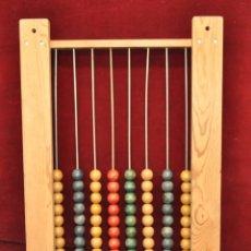 Juegos antiguos: ANTIGUO JUEGO CONTADOR DE BOLAS EN MADERA DE LOS AÑOS 50. Lote 57725216