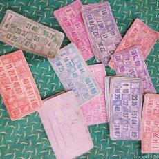 Juegos antiguos: CARTONES PARA BINGO. Lote 57946622