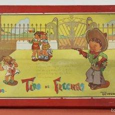 Juegos antiguos: TIRO DE FLECHAS. ANTIGUO JUGUETE GEYPER. CIRCA 1930. . Lote 57950147