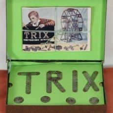 Juegos antiguos: TRIX. CONSTRUCCIONES METALICAS. NUMERO 4. INCLUYE INSTRUCCIONES. CIRCA 1930. . Lote 57990606