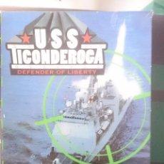 Juegos antiguos: CAJA VACIA JUEGO USS TICONDEROCA DEFENDER OF LIBERTY CON INSTRUCCIONES. Lote 58069593