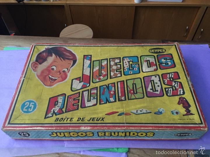 Antigua Caja De Juegos Reunidos Geyper Modelo Comprar Juegos