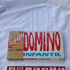 Juegos antiguos: JUEGO . DOMINO INFANTIL . MADERA. VINTAGE. AÑOS 70. Lote 58685938