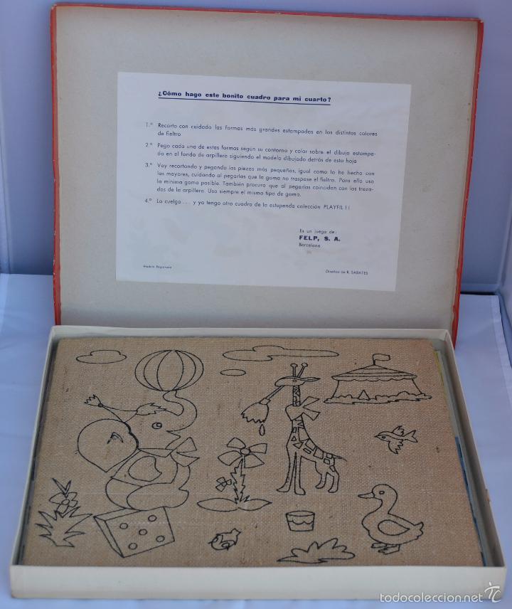 Juegos antiguos: JUEGO PLAYFIL. JUEGO DE REALIZAR TU PROPIO CUADRO. FELP, S.A. BARCELONA. - Foto 2 - 58731230