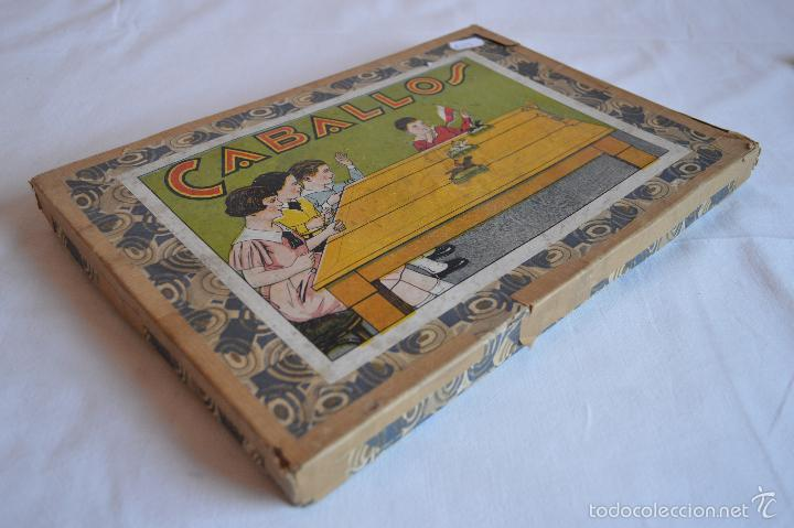 antiguo juego de carreras de caballos. años 30/ - Comprar ...