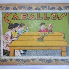 Juegos antiguos: ANTIGUO JUEGO DE CARRERAS DE CABALLOS. AÑOS 30/40. ROMANJUGUETESYMAS.. Lote 59536779