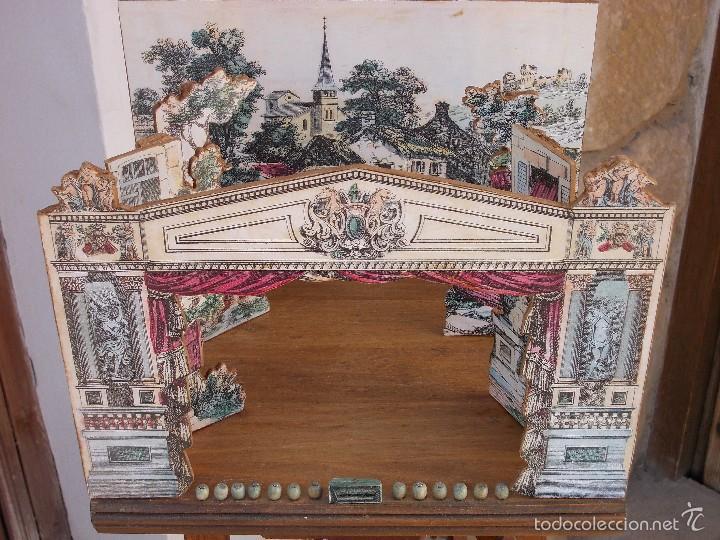 Juegos antiguos: TEATRO DE JUGUETE, PAPIERTHEATER, DUKKETHEATER, TOY THEATRE IMAGERIE NOUVELL - Foto 2 - 59653087