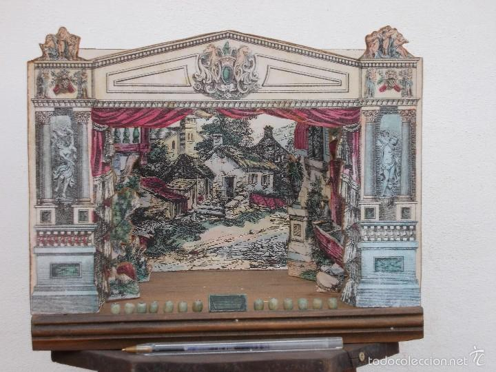Juegos antiguos: TEATRO DE JUGUETE, PAPIERTHEATER, DUKKETHEATER, TOY THEATRE IMAGERIE NOUVELL - Foto 3 - 59653087
