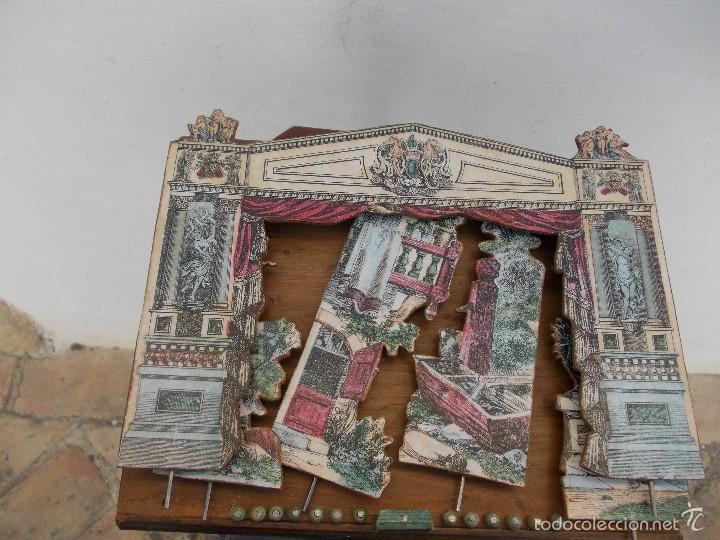 Juegos antiguos: TEATRO DE JUGUETE, PAPIERTHEATER, DUKKETHEATER, TOY THEATRE IMAGERIE NOUVELL - Foto 7 - 59653087