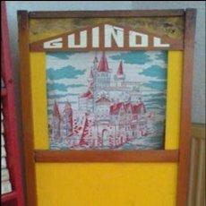 Juegos antiguos: TEATRO GUIÑOL, ORIGINAL AÑOS 70. Lote 60251123
