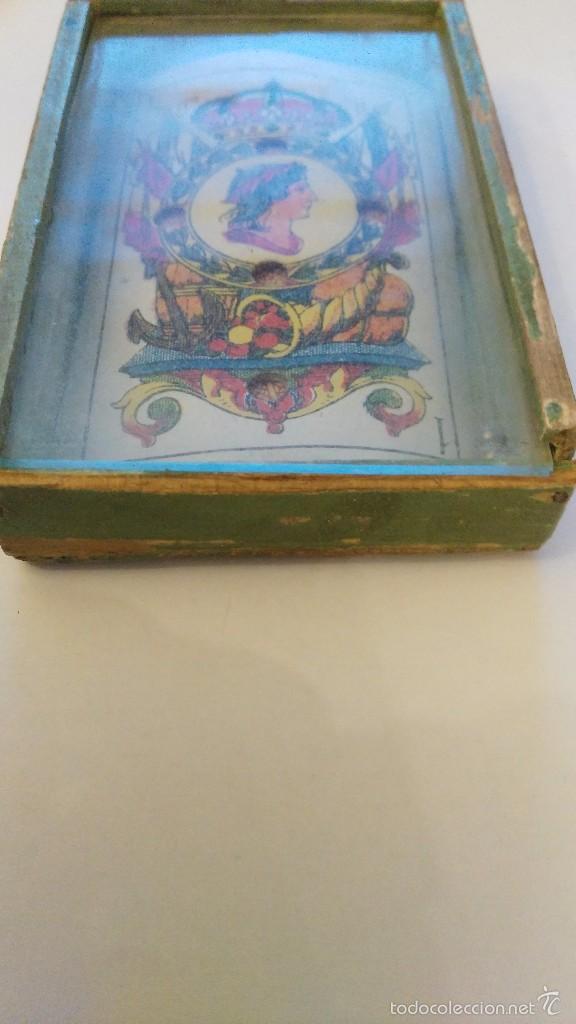 Juegos antiguos: JUEGO DE BOLSILLO - juegos de bolsillo -carta - naipe- juego de madera - Foto 2 - 60737075
