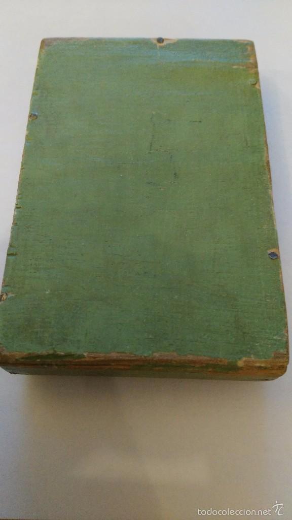 Juegos antiguos: JUEGO DE BOLSILLO - juegos de bolsillo -carta - naipe- juego de madera - Foto 3 - 60737075