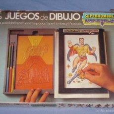 Juegos antiguos: JUEGO AÑOS 70 SUPERHOMBRES Y MONSTRUOS. Lote 60872779