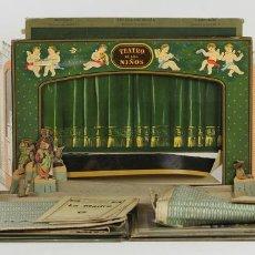 Juegos antiguos: EL TEATRO DE LOS NIÑOS S/N. ESCENARIO Y 2 OBRAS. EDICIONES SEIX BARRAL. 1951. . Lote 63836815