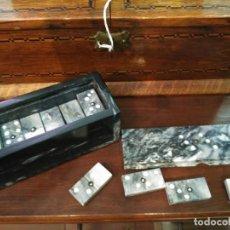 Juegos antiguos: MAGNIFICO JUEGO DE DOMINÓ REALIZADO A MANO EN MARMOL PP´SIGLO XX 143,00 €. Lote 64007779