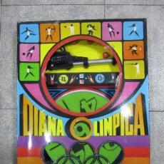 Juegos antiguos: DIANA OLIMPICA DEPORTIVA. DIANA GIRATORIA. CREACION DE LEMSSA. EL DE LAS FOTOS. ESTA NUEVO. Lote 64207107