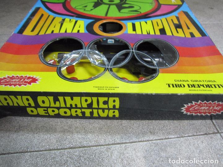 Juegos antiguos: DIANA OLIMPICA DEPORTIVA. DIANA GIRATORIA. CREACION DE LEMSSA. EL DE LAS FOTOS. ESTA NUEVO - Foto 3 - 64207107