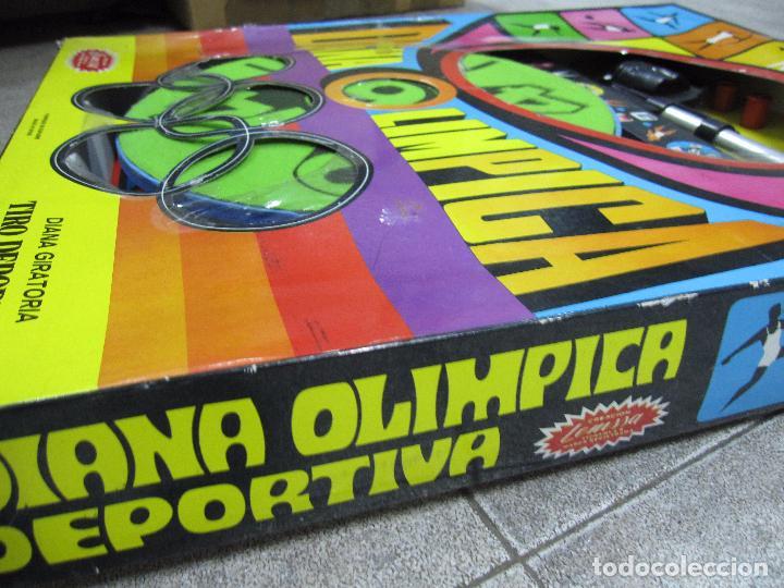Juegos antiguos: DIANA OLIMPICA DEPORTIVA. DIANA GIRATORIA. CREACION DE LEMSSA. EL DE LAS FOTOS. ESTA NUEVO - Foto 5 - 64207107