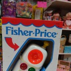 Juegos antiguos: TELÉFONO MÓVIL SONIDOS Y LUCES.FISHER PRICE AÑO 1994.NUEVO.. Lote 64311103