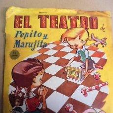 Juegos antiguos: BOLSA EL TEATRO PEPITO Y MARUJITA - SIN USAR STOCK TIENDA - AÑOS 50 - ENVIO GRATIS. Lote 64518199