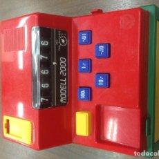 Juegos antiguos: CAJA REGISTRADORA MARCA FUCHS FABRICADA WEST GERMANY. Lote 66745858