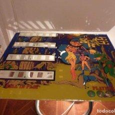 Juegos antiguos: PETACO CRISTAL MAQUINA PIN-BALL-SPACE RACE-. Lote 67208537