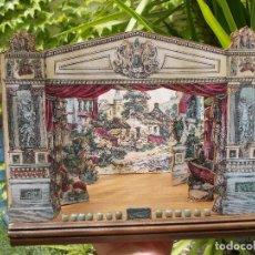 Juegos antiguos: TEATRO DE JUGUETE, PAPIERTHEATER, DUKKETHEATER, TOY THEATRE IMAGERIE NOUVELL. Lote 59653087