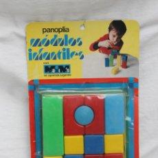 Juegos antiguos: MODULOS INFANTILES, CONSTRUCCION, DE MAXIM´S, AÑOS 70, EN BLISTER. Lote 67237181