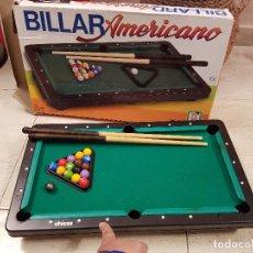 Juegos antiguos: ANTIGUO JUEGO JUGUETE AÑOS 80-90 BILLAR AMERICANO CHICOS REF 7610. Lote 68175257
