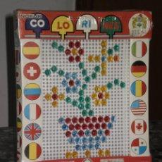Juegos antiguos: JUEGO COLORINES REF:267/1 JUGUETES PIQUÉ , CLAVO TRANSPARENTE PEQUEÑO . AÑOS 70 .. Lote 98210700