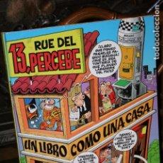 Juegos antiguos: LIBRO JUEGO 13 RUE DEL PERCEBE CASA DESPLEGABLE CON MUÑECOS UN LIBRO COMO UNA CASA. Lote 68779041