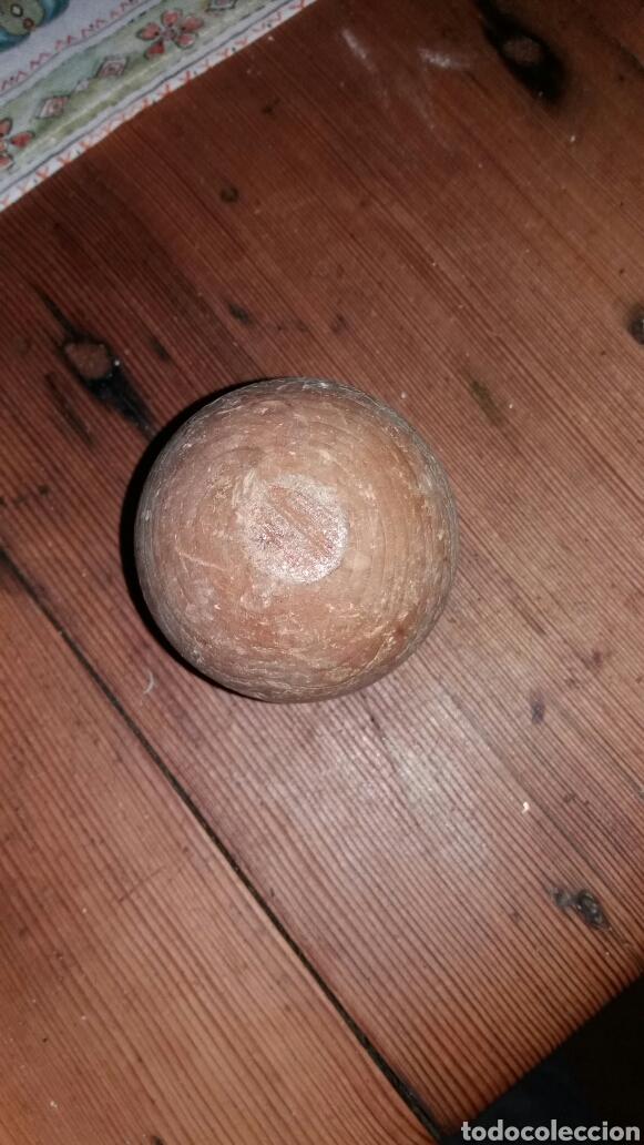 Juegos antiguos: Bola de madera juego de bolos - Foto 2 - 69117334