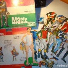 Juegos antiguos: UNIFORMES RECORTABLES -- SOLDADOS MAGNÉTICOS -- MAGIC MAN - BORRAS. Lote 69291641