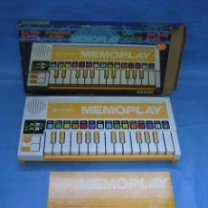 Juegos antiguos: 4 JUEGO PIANO MEMOPLAY DE BONTEMPI . Lote 70043133
