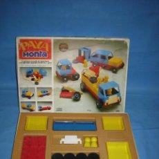 Juegos antiguos: 13 JUEGO DE CONSTRUCCIÓN MONTA DE PAYA. COMPLETO. Lote 70119441