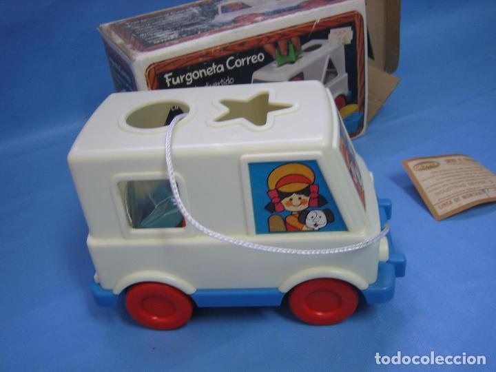 Juegos antiguos: 7 juguete furgoneta correo de geyper - Foto 3 - 70278573