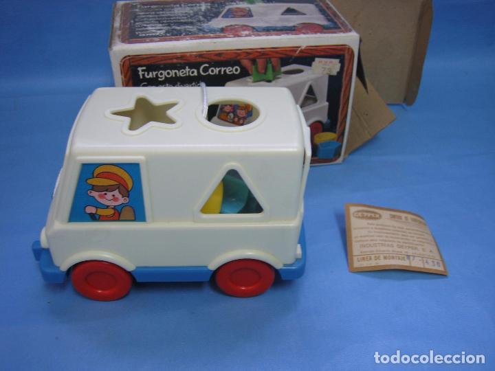 Juegos antiguos: 7 juguete furgoneta correo de geyper - Foto 6 - 70278573
