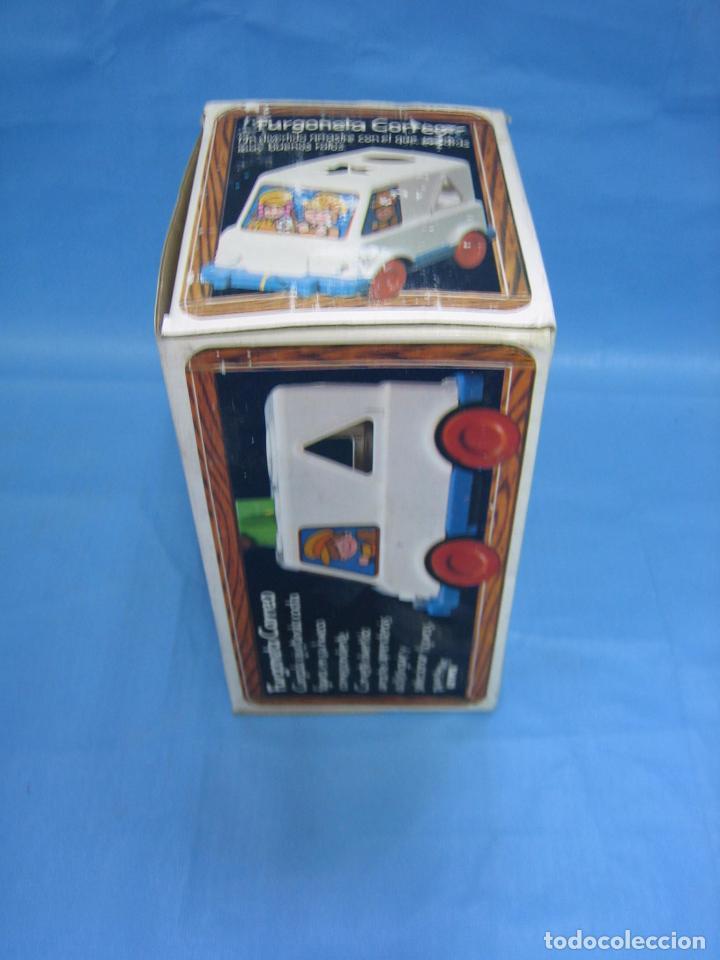 Juegos antiguos: 7 juguete furgoneta correo de geyper - Foto 8 - 70278573