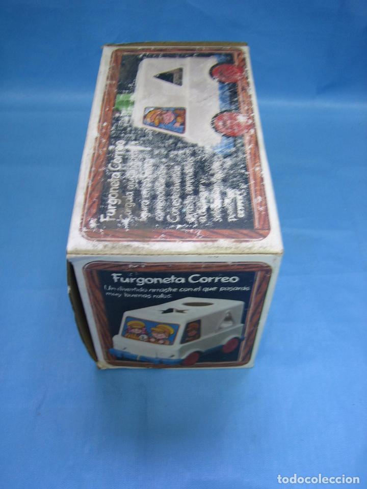 Juegos antiguos: 7 juguete furgoneta correo de geyper - Foto 10 - 70278573