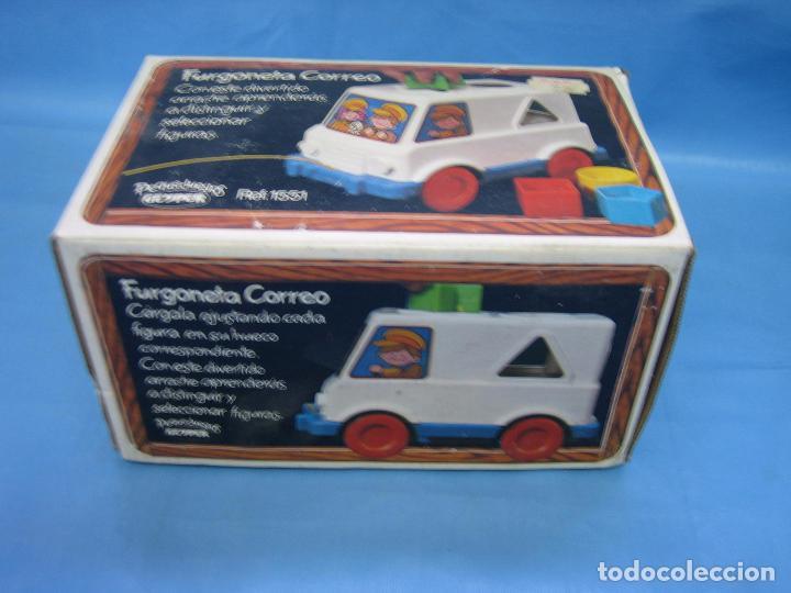 Juegos antiguos: 7 juguete furgoneta correo de geyper - Foto 11 - 70278573