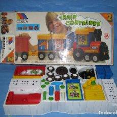 Juegos antiguos: 0 TREN. TRAIN CONTAINER DE MOLTO. COMPLETO SIN JUGAR. Lote 213013016