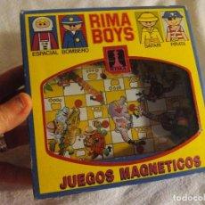 Juegos antiguos: JUEGO MAGNÉTICO DE RIMA BOYS. Lote 71694707